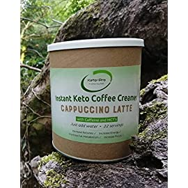 Keto Coffee Creamer | Instant Keto Coffee with MCT's | Supports Ketogenic Nutrition & Fasting | Boosts Energy, Focus…