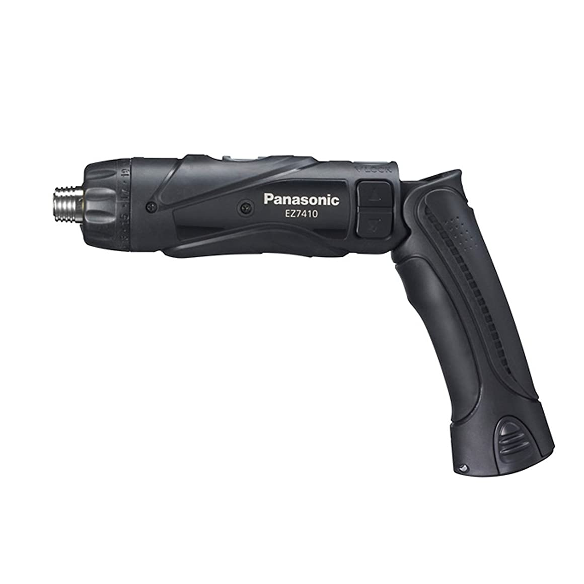 合唱団主観的膨らみパナソニック(Panasonic) 充電スティックドリルドライバー 3.6V 【電池パック2個?充電器?ケースセット】 ブラック EZ7410LA2SB1