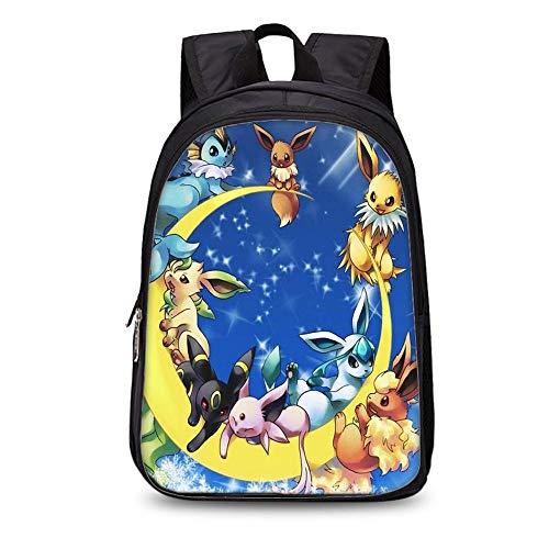 rgbh Kinderrucksack Für Kinder Pokemon Kindergarten Schultaschen 3D Rucksack (35cm Double-Layer-Rucksack) 7