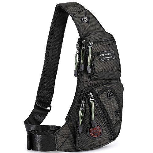 Nicgid Sling Bag Chest Shoulder Backpack Fanny Pack Crossbody Bags for...