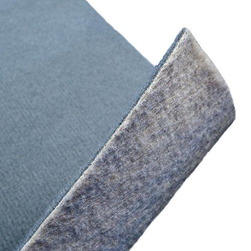 Floori® Premium Nadelfilz Teppich, GUT-Siegel, Emissions- und geruchsfrei, wasserabweisend, 1200 g/qm | Größe wählbar (100x200cm)