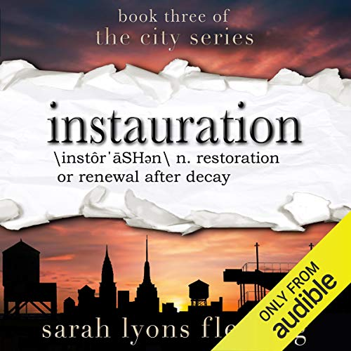 Instauration     The City Series, Book 3              De :                                                                                                                                 Sarah Lyons Fleming                               Lu par :                                                                                                                                 Therese Plummer,                                                                                        Luke Daniels                      Durée : 26 h et 51 min     Pas de notations     Global 0,0