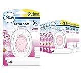 Febreze Bathroom Air Freshener, Odour Eliminator, Blossom & Breeze, Pack of 8