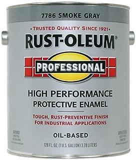 RUST-OLEUM 242255 Protective Enamel Paint, 1 gal, Smoke Gray