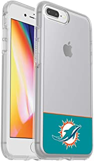 OtterBox NFL SYMMETRY SERIES Case for iPhone 8 Plus & 7 Plus (ONLY) - Retail Packaging - DOLPHINS