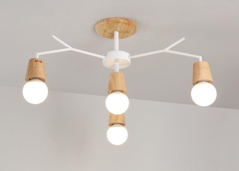 GRY Nordic Fashion Einfache Holz Licht Baum Gabel Form Form Form Deckenleuchte Deckenleuchte Kronleuchter Licht für Schlafzimmer, Küche, Wohnzimmer, Korridor, Balkon B07CB1CKGN | Schenken Sie Ihrem Kind eine glückliche Kindheit  c5961a