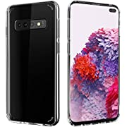 Citius Virtute Samsung Galaxy S10 Plus Case   Protective Cover Transparent Clear Anti-Scratch Shock Absorption Compatible with Samsung Galaxy S10 Plus