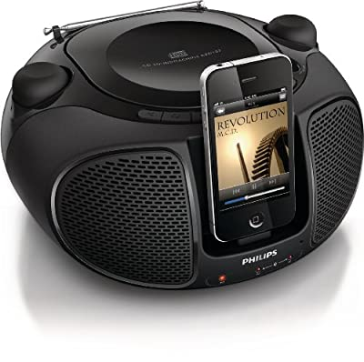 Philips AZD102/05 Dock for iPod/iPhone CD Soundmachine by Philips
