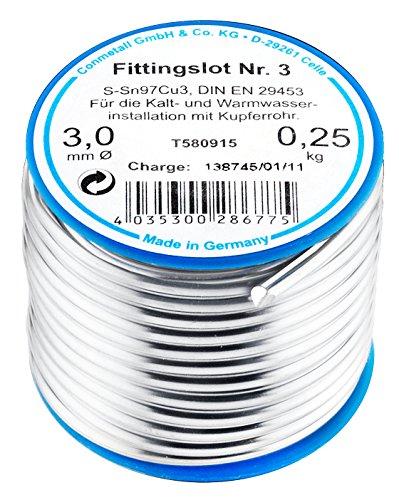 Cornat T580915 Fittingslot 250 g 97%