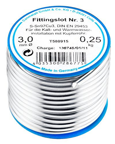 Cornat T580915  Fittingslot 250 g 97%