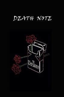 Death Note Notebook ,Journal: Great Notebook for School or as a Diary, Lined With More than 100 Pages. Notebook that can s...