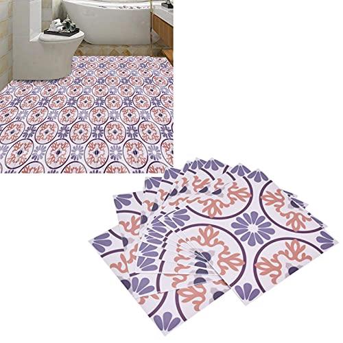 Etiqueta de la pared, etiqueta de la pared impermeable fácil de usar para pisos para la pared para embellecer la decoración(18)