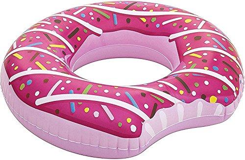 Bestway Schwimmring Donut 94 x 94 x 28 cm (Pink, 1 Stück)