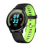 Yimiky Fitness Armband,Smartwatch Fitness Track für Frau, Bluetooth Wasserdichter Aktivitäten-Tracker Smart Health Monitor Lauftracker Walk Counter Runner Schrittzähler Blutdruck für...