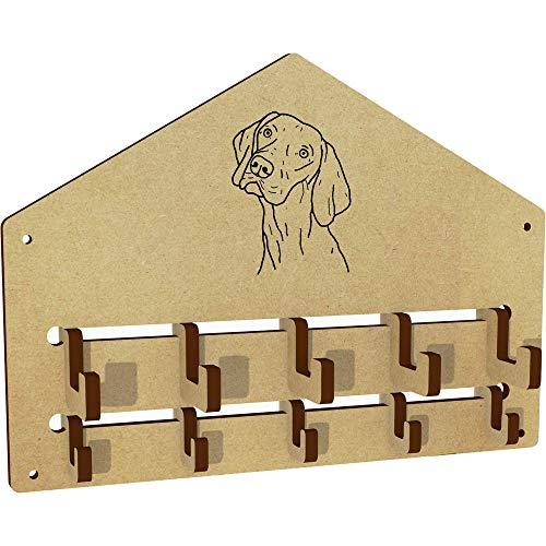 Azeeda 'Vizsla Dog' Wall Mounted Coat Hooks / Rack (WH00042416)