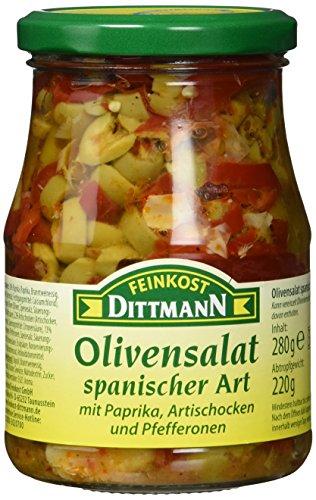 Feinkost Dittmann Olivensalat spanischer Art Glas (1 x 280 g)