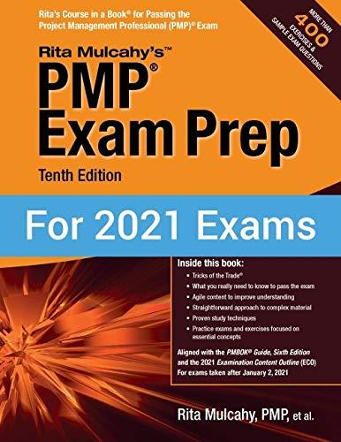 PMPĀ Exam Prep, Tenth Edition by Rita Mulcahy