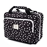 Large Hanging Toiletry Cosmetic Bag For Women - XL Hanging Travel Toiletry And...