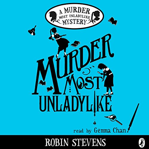 Murder Most Unladylike audiobook cover art