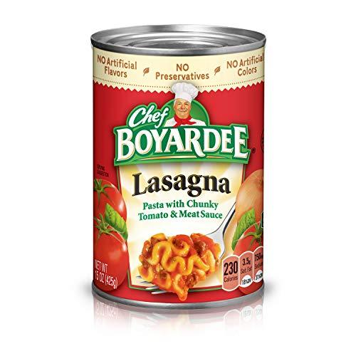 Chef Boyardee Overstuffed Italian Sausage Ravioli,...