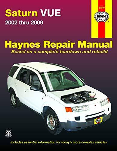 Download Saturn Vue 2002 thru 2009 (Haynes Repair Manual) 1620920255