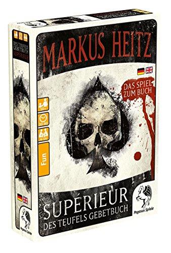 Pegasus Spiele 18126G - Des Teufels Gebetbuch, Supérieur, Markus Heitz