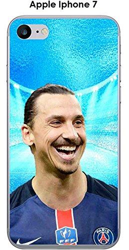 Onozo Cover Apple iPhone 7Design Zlatan Sfondo Blu