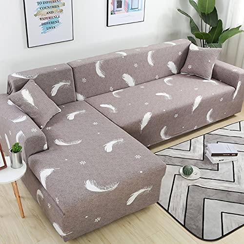 Funda de sofá para sofá de Todos los tamaños Funda de sofá elástica Universal para Sala de Estar Protector de Cubierta Decorativa A12 1 Plaza