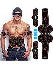 Abs Trainer,Spiertoner,Abdominale Toning Belts EMS Abs Trainer Lichaam Fitness Trainer Gym Workout En Thuis Fitness Apparaat