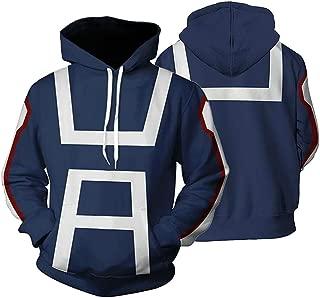 My Boku No Hero Academia Hoodies Sweatshirt Cosplay Costume Training Suit Jacket