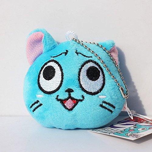 Fairy Tail AMZ Fan Collection Plüsch Action Figure Merchandise Spielzeug Geschenkset Manga Anime (Plüsch Klein C)