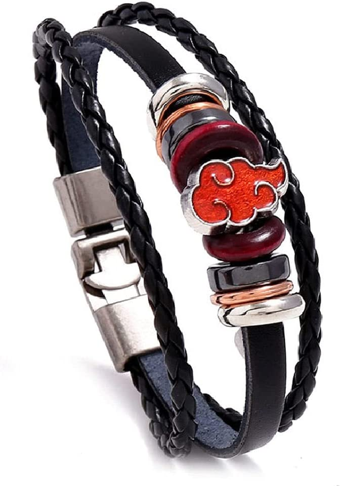 Detroit Mall LYWER Xiangyun Punk Max 69% OFF Style Woven Cowhide Ani Personality Bracelet