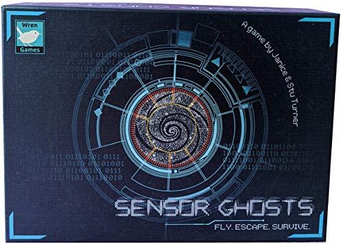 Wren Games Sensor-Geister, ein bewegendes Labyrinth Puzzle Kartenspiel (kooperativ oder solo)