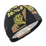 Badekappe, Badehut, Oingo Boingo Cat Kids Swim Caps for Kids Children Boys and Girls Baby Bathing Caps for Long and Short Hair
