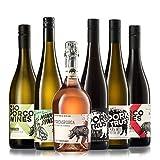 GEILE WEINE Weinpaket WEINPUNK (6 x 0,75l) Probierpaket mit Rot-, Rosé und Weißwein von Winzern aus Italien und Deutschland