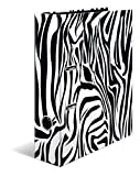 HERMA Archivador de anillas con palanca Animal Print con motivo Cebra, A4, 70 mm, con estampado interior, 1 carpeta con motivos