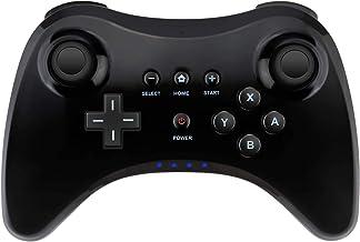Wireless Controller Gamepad for Nintendo Wii U Bluetooth Game Controller Joystick Gamepad (Black)