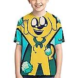 VJSDIUD Camisetas Boys Girls T-Shirt Cool Crewneck Short Sleeve Graphic T Shirt Mi_k_ecra-CK Cute Style Short-Sleeved T-Shirt Mi_k_ecra-CK Black