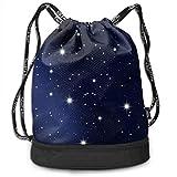1Zlr2a0IG Seven Chakra Symbols Print Drawstring Bags - Simple Bundle Pocket Backpack