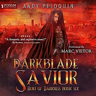 Page de couverture de Darkblade Savior