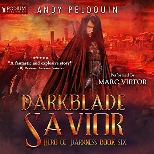 Darkblade Savior audiobook cover art