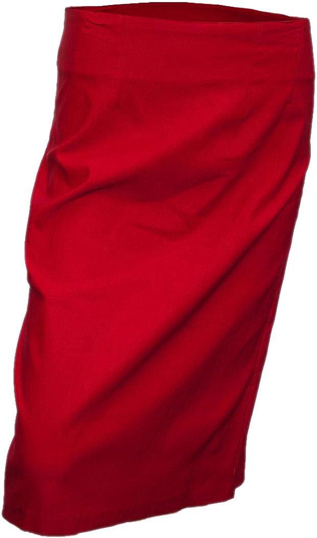 eVogues Plus Size Pencil Skirt