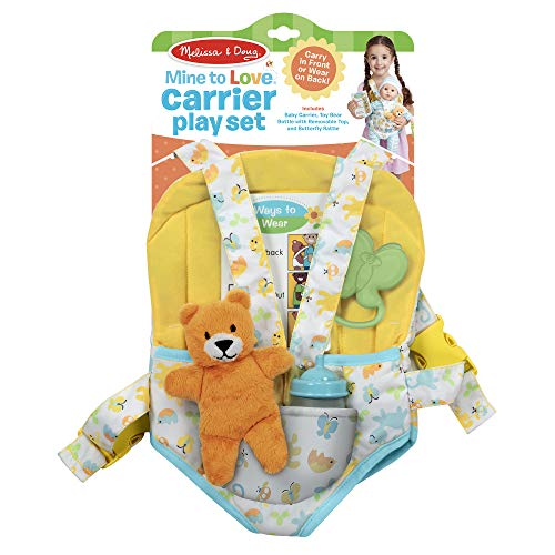 Melissa & Doug Carrier Play Set for Baby Dolls