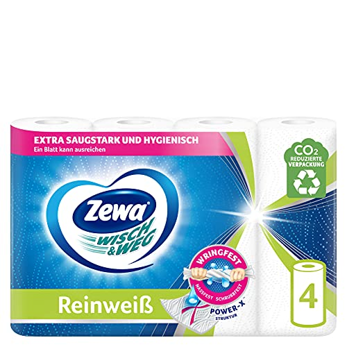 ZEWA W&W Reinweiss 4x45