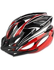 自転車 ヘルメット 大人用 高通気性 サイクリングヘルメット 超軽量 ロードバイクヘルメット サンバイザー付き 18通気ホール 自転車ヘルメット 耐衝撃 高剛性 サイズ調整可能 アゴパッド付き スポーツヘルメット 男女兼用