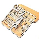 Verstärkte Hochleistungsnagelknipser-Nail Art Maniküre Pediküre Werkzeug Set Nagel Schleifschwamm Feilen Polierer Design Für Nagel Auto Splash Maniküre-Werkzeuge