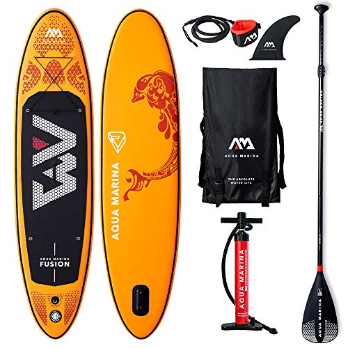 AQUA-MARINA Stand up Paddle Gonflable Sup AQUAMARINA Fusion...