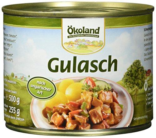 ÖKOLAND Gulasch ungarische Art, 2er Pack (2 x 500 g)