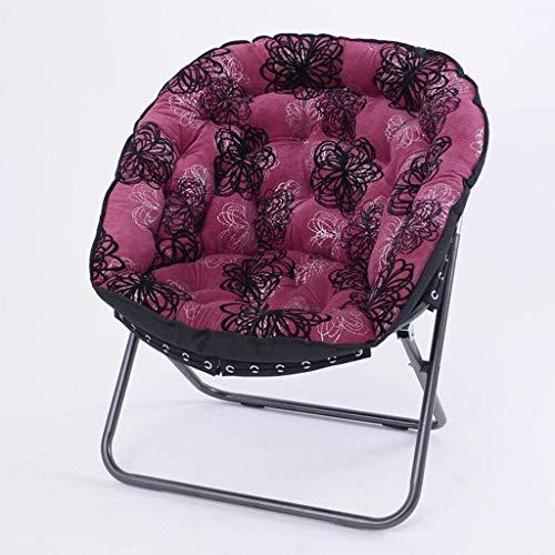 DGHJK Sillón Plegable con Estampados Florales en Blanco y Negro Rosa Rojo Chaise Longue Sillón Sofá