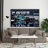 Sebastian Vettel Formel 1 F1 Formel 1 Aston Martin Print